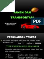 Panen Dan Transportasi