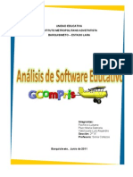 ANÁLISIS SOFTWARE EDUCATIVO  -  GCompris