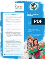 OCC Packing Party Guide Outreach Tool