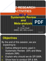Systematic Review May 2012