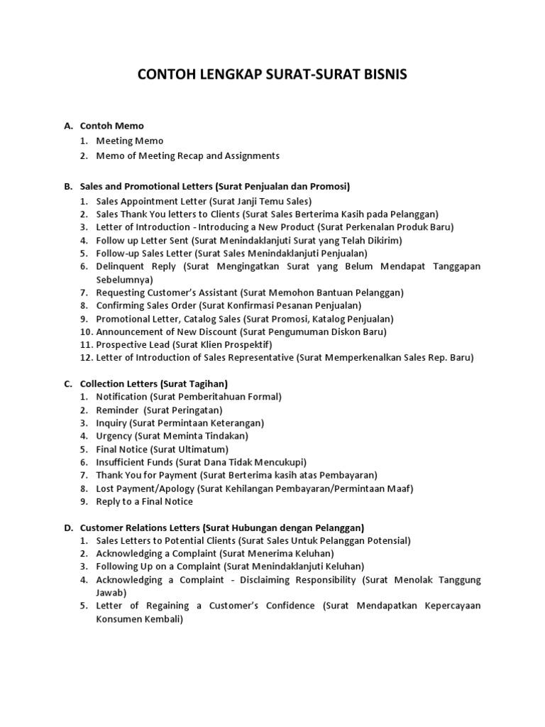 draf contoh lengkap surat