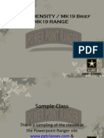 MK19 Range Brief Example