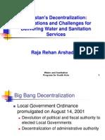 Decentralization Pakistan