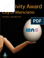 Creativity Award City of Marsciano 2012