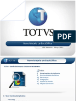Materiais - PPT - Novo Modelo Back Office