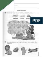 atividade de português