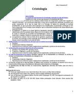 1. Apuntes - Cristología1