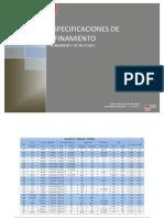 Manual de especificaciones tecnicas de afinamiento motor gasolinero