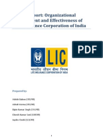 Organizational Environment of LIC