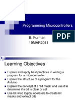 Lecture Programming Micro Controllers