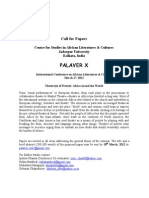 Call for Papers-palaverX