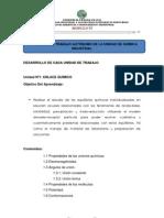 ACTIVIDADES DE TRABAJO AUTÓNOMO DE LA UNIDAD DE QUÍMICA INDUSTRIAL