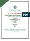 Seminar Report on 5 Pen Pc Technology