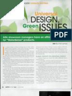 期)2008_Universal DESIGN, Green ISSUES