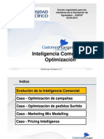 Inteligencia Comercial y Optimización