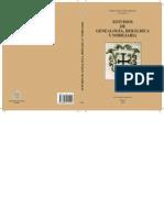 79243496 Estudios de Genealogia Heraldica y Nobiliaria Varios Autores