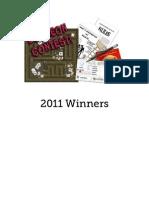 1PD 2011 Winners