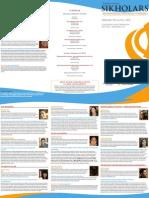 Sikholars 2012 Program
