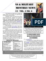 Veterans & Military Families Monthly News-June 2012