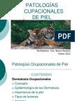 PIEL-PATOLOGÍAS OCUPACIONALES DE PIEL