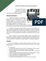 PROYECTO DE TALLER - Construcción de un panel solar térmico