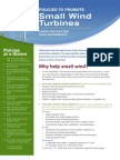 Policies to Promote Small Wind Turbines