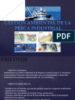 Gestion Ambiental de La Pesca Industrial