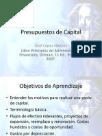 Presupuestos de Capital 2