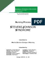 Steven Johnsons Syndrome