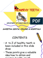 ABC of Healthy Teeth 1