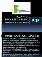Aula Ifba Processos Estocaticos