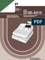 Sharp Xe a213