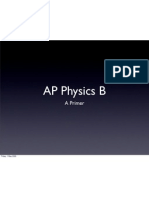 AP Physics B Primer