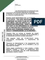 EL AYUNTAMIENTO DE ARANJUEZ PAGARÁ A LOS PROVEEDORES