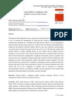 Quality Assurance Standards Published