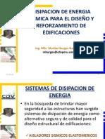 DISIPACION DE ENERGIA SISMICA PARA EL DISEÑO Y