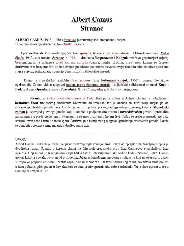 hrvatski matura a 2012 eseji