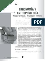 Antropometria y Ergonomia (TEORIA)