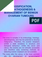Benign ovarian tumours