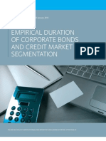 Empirical Duration of Corporate Bonds and Credit Market Segmentation