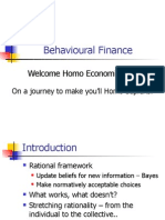 Behavioural Finance Basic Presentation