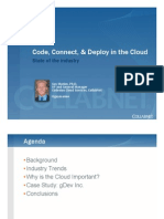 Code Connect and Deploy in the Cloud