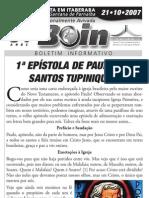 Carta a Igreja Brasileira