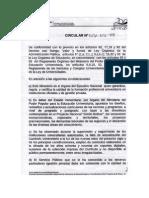 CIRCULAR DVDA 2012-408 SOBRE ACTUALIZACIÓN CURRICULAR