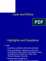 Laws and Ethics