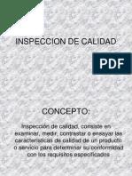 3. INSPECCION DE CALIDAD