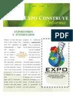 Boletin #1 Expo Construye 2012
