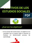 Objetivos de Los Estudios Sociales