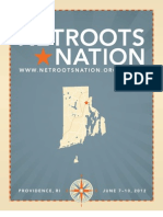 Netroots Nation 2012 Program