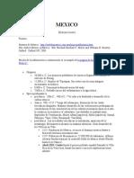 Resumen de Historia de Mexico